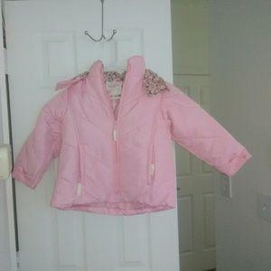 OshKosh B'gosh girls coat and snow overalls